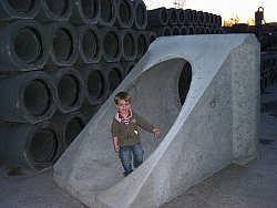 Röhren für den Spielplatz