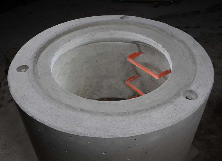 Konus DIN 4034-1-Typ2 mit Einstiegsöffnung 800 mm