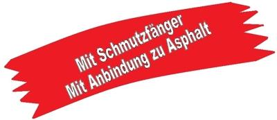 Banner mit Anschlußdichtung