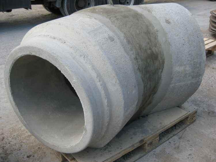 Betonrohr Bogen DN 600 mm 15 Grad