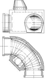 Schacht aus Platten