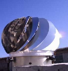windgetriebener Ventilator
