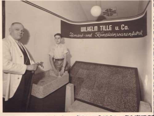 Wilhelm Tille und Friedrich-Wilhelm Reineke sen.